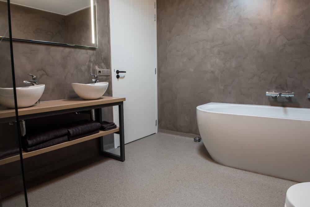 beton ciré badkamer